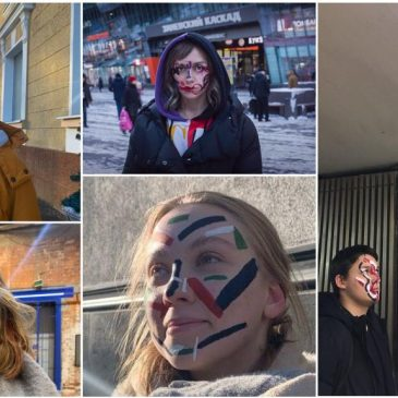 Anti-Facial Recognition Arrests in Russia